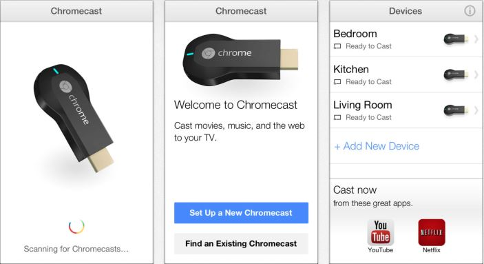 multiple chromecast