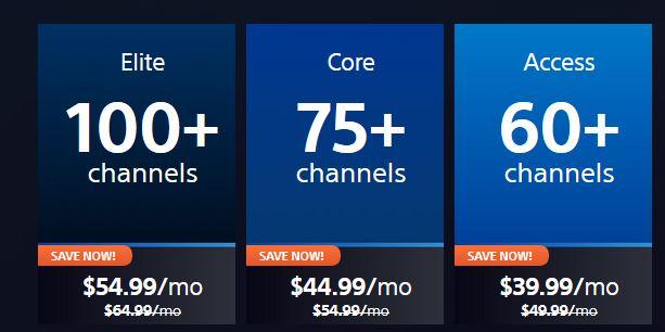 vue price plan
