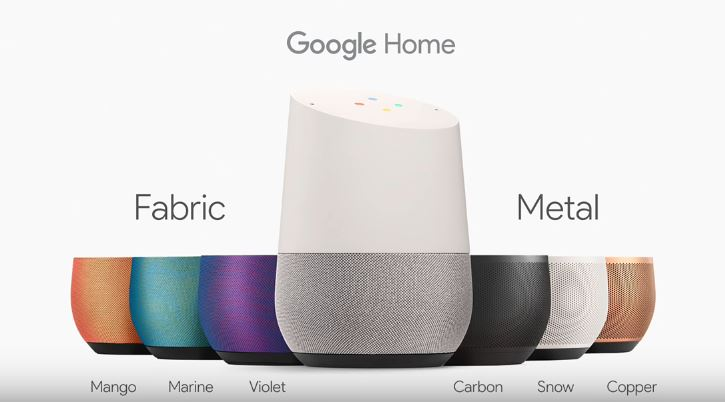 google-home-options-colors