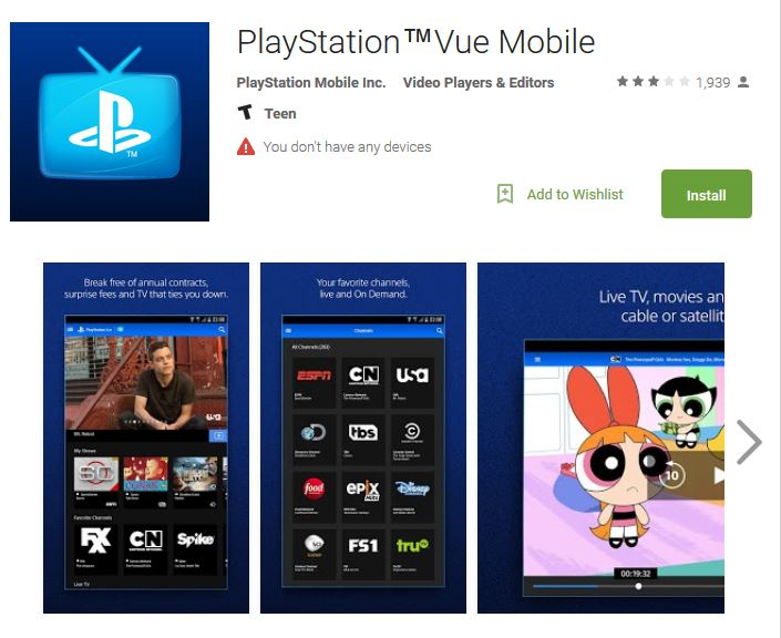 playstation-vue-mobile-app